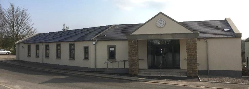 Stainton Village Hall when it opened in March 2019